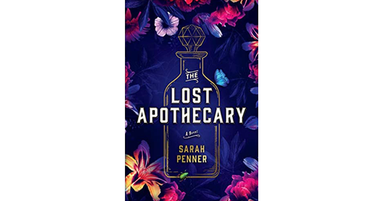 Book cover of The Lost Apothecary by Sarah Penner