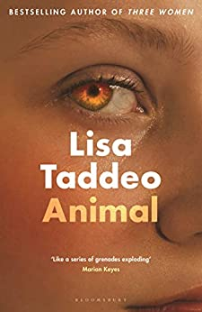 Cover of 'Animal', showing half of a face with a brown eye.